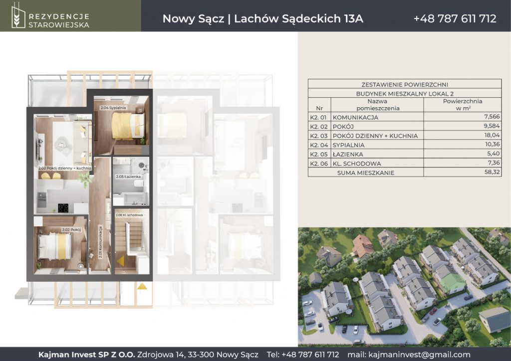karta mieszkania - rezydencjestarowiejska